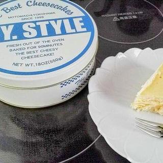 NYスタイルチーズケーキ