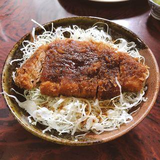 わらじソースカツ丼(とんかつ村井 )