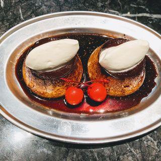 ととのうダブルプリン(パーラー大箸(純洋食とスイーツ パーラー大箸))