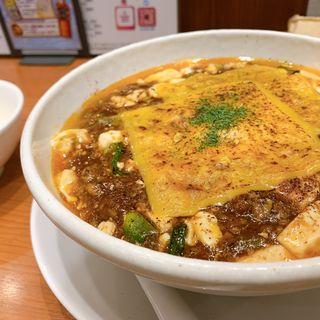 焼きチーズ麻婆麺(SHIBIRE NOODLES 蝋燭屋 表参道ヒルズ店)