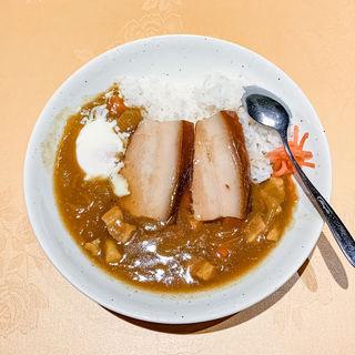 豚角煮カレー(新世界菜館 (シンセカイサイカン))