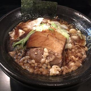 元気のでる味噌ラーメン(中)(ラーメン札幌 一粒庵)