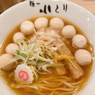 小とりそば(醤油)(麺や 小とり)