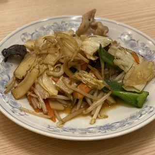 美保野ポークの肉野菜炒め