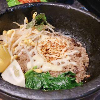 牛タンの石焼きチーズビリヤニ(裏メニュー)