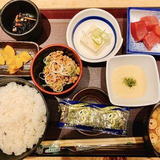 納豆定食(やえす初藤 (はつふじ))