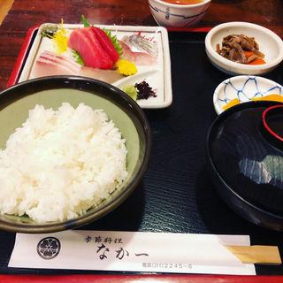 刺身定食(季節料理 なか一 (なかいち))