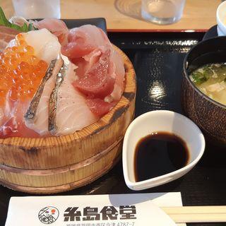海鮮丼(糸島食堂)