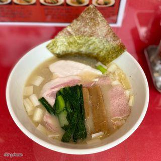 白湯醤油らーめん(麺喰屋澤)