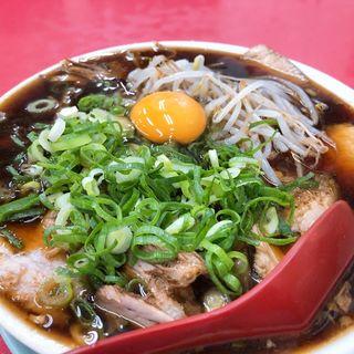 中華そば(並)と焼飯