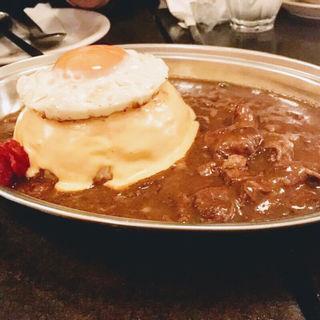ホルモンチーズカレー(シヤチル (shachill))