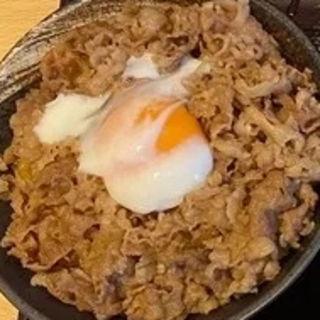 肉玉丼(数量限定)