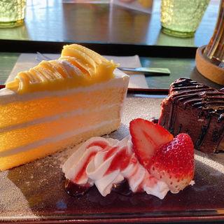 モンブラン&チョコレートケーキ