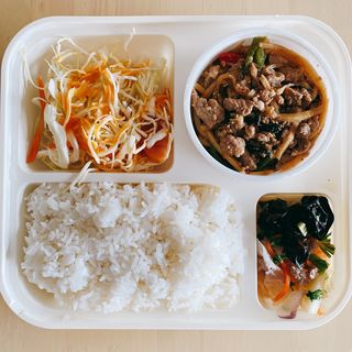 豚肉のガパオ&ライス弁当(チャオタイ 川崎店)