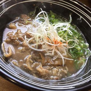 くろ (牛肉ラーメン )(麺や のぉくれ  岩国店)