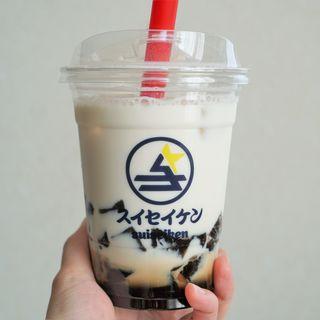 トロモチドリンク/黒蜜ミルク×黒糖わらび餅(彗星軒)
