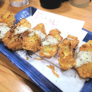 焼き芋天ぷら(瓦焼き ひとたらし)