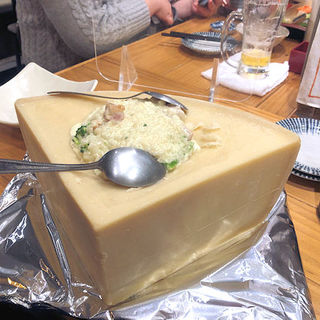 まるごとチーズリゾット