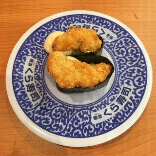赤鶏唐揚げタルタル軍艦
