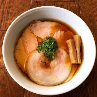 3種のチャーシュー増し醤油中華そば《鶏と豚》