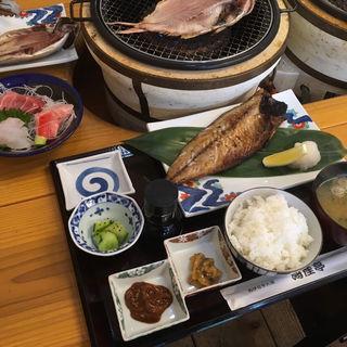 トロサバ干物定食(ニサク印の海産屋)