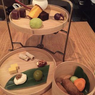 茶 間 食  -さまじき-(HIGASHIYA GINZA (ヒガシヤギンザ))