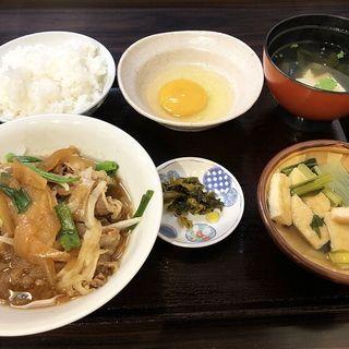 すき焼き定食(割烹 松長 (まつちょう))