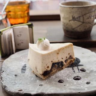 珈琲ゼリークリームレアチーズ(珈琲セット)(カフェ ケシパール )