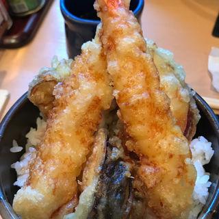 天丼セット(そば酒房 笹陣 渋谷店 )