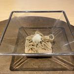 福井在来種 挽きぐるみ 十割手打ち蕎麦 辛味大根 胡桃汁