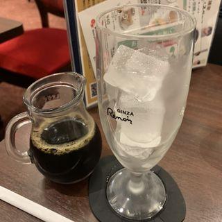 トラジャブレンドアイスコーヒー(喫茶室ルノアール 上野しのばず口店)