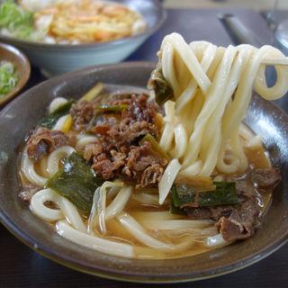 肉うどん(釜揚げ 牧のうどん 片江店)