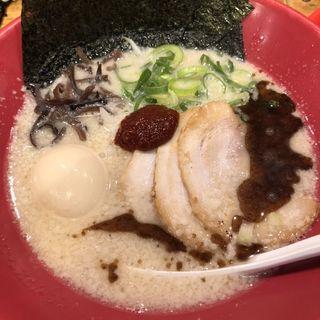 特製白丸、ミニ明太子ごはんランチ、替え玉(一風堂 六本木店 (いっぷうどう))