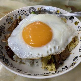 麺類飯類or定食と豚スタミナ丼セット