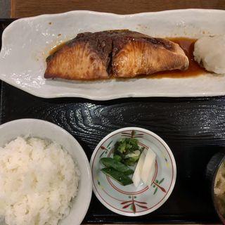 ぶり照り焼き定食(ときわ食堂 (ときわしょくどう))
