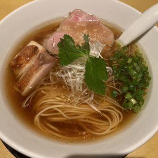 生醤油上湯らぁ麺(slurp)