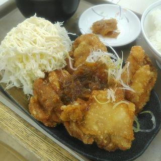 唐揚げ定食~油淋鶏ソースがけ~