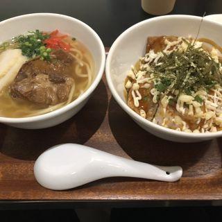 ラフテー丼&沖縄そば