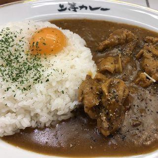 小川町店限定スパイシーチキンカレー(上等カレー 神田小川町店)