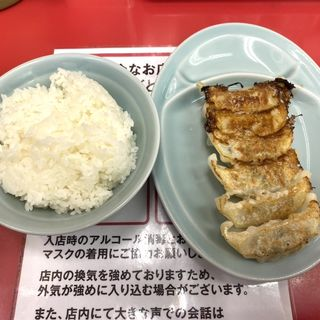 餃子とライス(ラーメン山岡家 新すすきの店)
