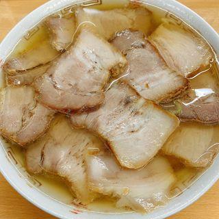 肉そば(坂内食堂)