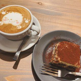 ケーキセット(ua+カフェ)