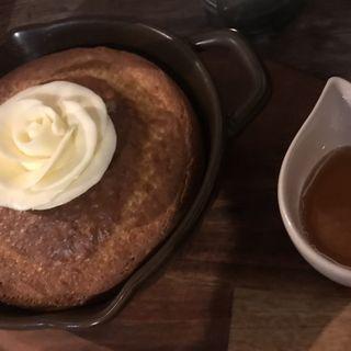 ポンフィパンケーキセット