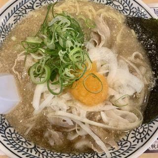 肉そば(丸源ラーメン 練馬関町店 )