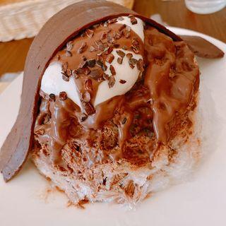 ビターチョコケーキ+生チョコレート