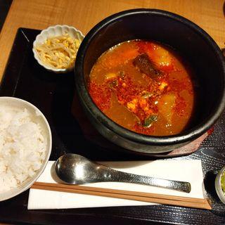 ベジタブルスープカレー(発酵居酒屋5)