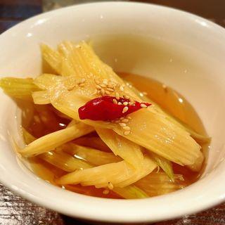 セロリキムチ(焼肉 Shin天楽)
