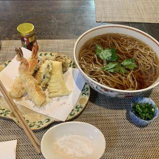 天ぷら蕎麦 大盛り