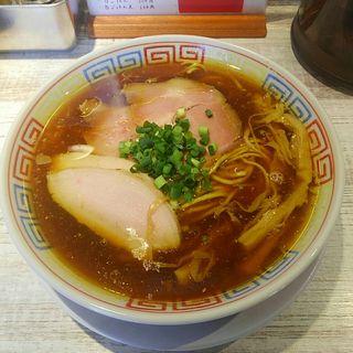 中華醤油そば(ラーメン家 あかぎ)