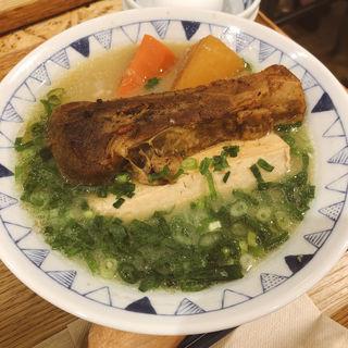 炙りスペアリブ豚汁定食